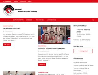 judo-vsg-fribourg.ch screenshot