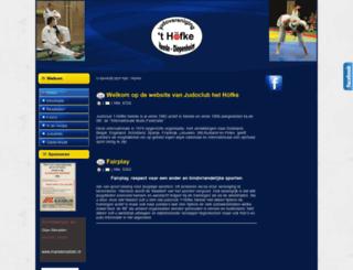 judoclubhethofke.nl screenshot