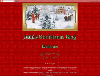 judy-christmas.blogspot.in screenshot