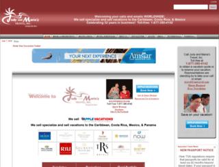 judyandmariastravel.com screenshot