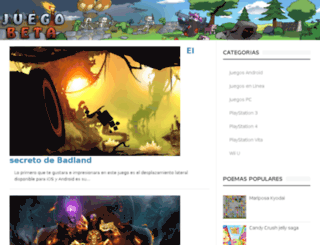 juegobeta.com screenshot