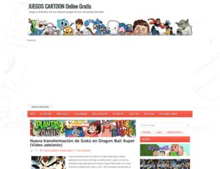 juegos-cartoon.blogspot.com.ar screenshot
