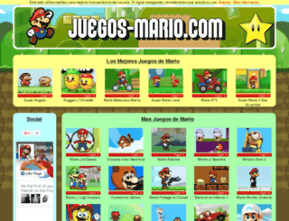 juegos-mario.com screenshot