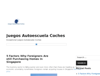 juegosautoescuelacoches.com screenshot