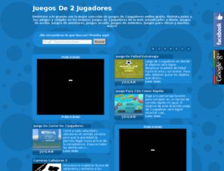 juegosde2jugadores.com.es screenshot