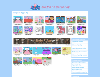juegosdepeppapig.net screenshot