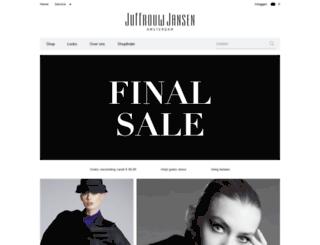 juffrouwjansen.com screenshot