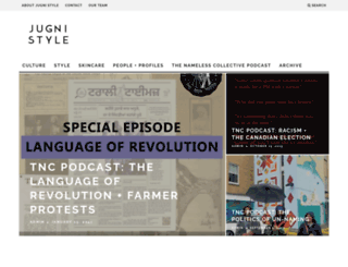 jugnistyle.com screenshot