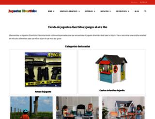 juguetesdivertidos.com screenshot