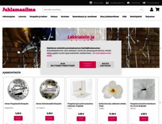 juhlamaailma.fi screenshot
