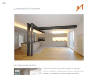 juhonyberg.com screenshot