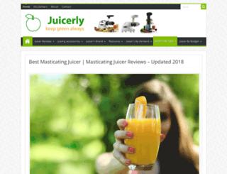 juicerly.com screenshot