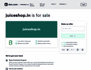 juiceshop.in screenshot