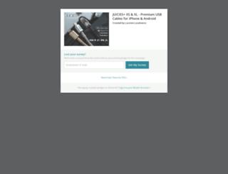 juicies.backerkit.com screenshot
