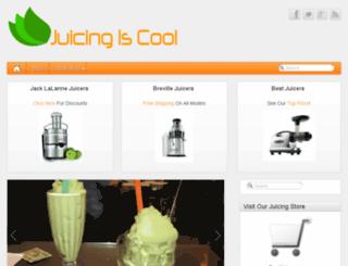 juicingiscool.com screenshot