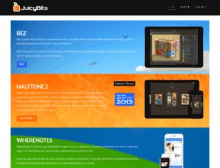 juicybitssoftware.com screenshot