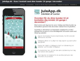 juleapp.dk screenshot