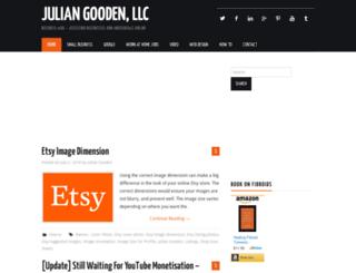 juliangooden.com screenshot