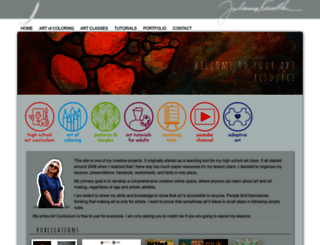 juliannakunstler.com screenshot