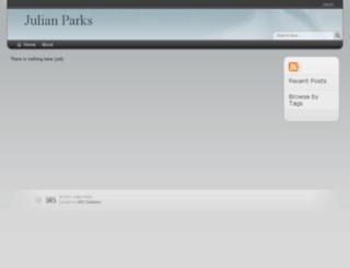 julianparks.com screenshot