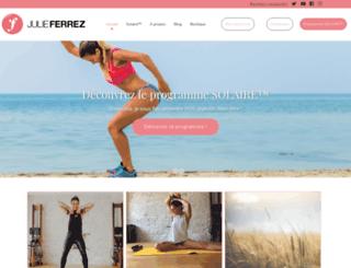 julieferrez.com screenshot