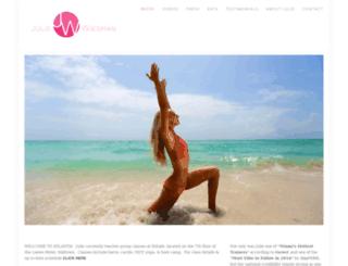 juliewiesman.com screenshot