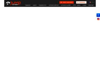jump-tandem.cz screenshot