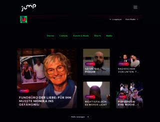 jumpradio.de screenshot