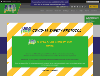 jumpwithus.co.nz screenshot