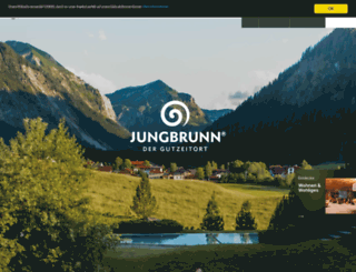 jungbrunn.at screenshot