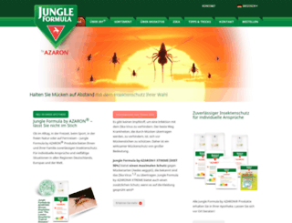 jungle-formula.com screenshot