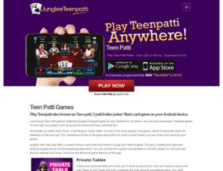 jungleeteenpatti.com screenshot