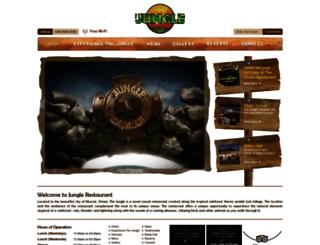 junglerestaurant.net screenshot