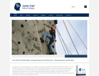juniorcertmindmaps.ie screenshot