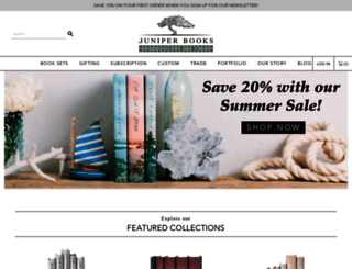 juniperbooks.com screenshot