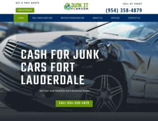 junkitflorida.com screenshot
