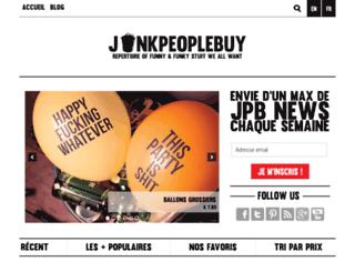 junkpeoplebuy.fr screenshot
