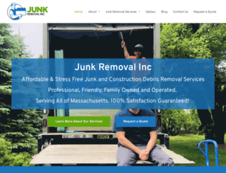 junkremovalinc.com screenshot