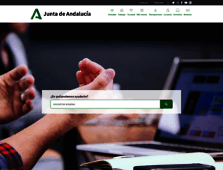 juntadeandalucia.es screenshot