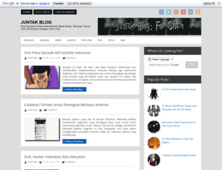 juntak01.blogspot.com screenshot