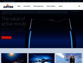 jupiteronline.co.uk screenshot