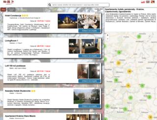 jurahotel.pl screenshot
