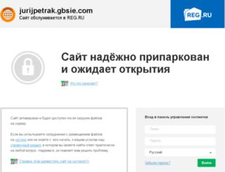 jurijpetrak.gbsie.com screenshot