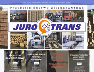 juro-trans.com.pl screenshot