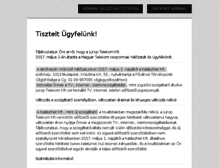 juropnet.hu screenshot