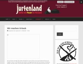 jurtenland.de screenshot