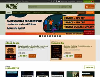 jurua.com.br screenshot