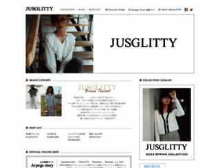 jusglitty.jp screenshot