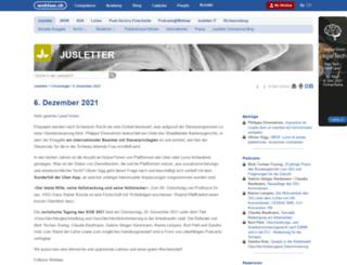 jusletter.weblaw.ch screenshot