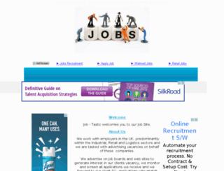 just-recruitment.net screenshot